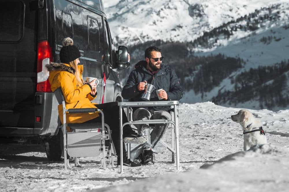 Comment chauffer un camping-car en hiver?